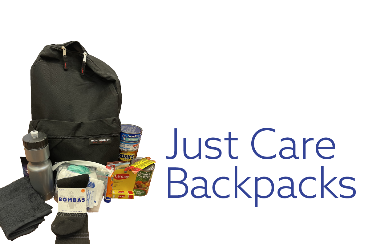 justcare backpacks